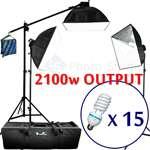 SOFTBOX PHOTOGRAPHY LIGHTING BOOM LIGHT STAND KIT MX01
