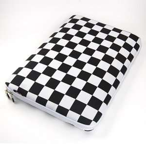 Black and White 15.6 inch Laptop notebook computer case/bag/sleeve