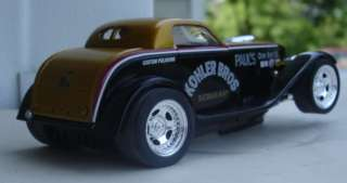 Kohler Bros. Drag Custom Built 1/32 Slot Car