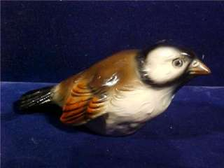 GOEBEL CV75 Sparrow Bird Figurine WEST GERMANY NR