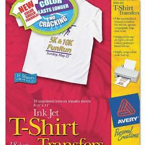 Avery Products   Avery   Personal Creations Inkjet T Shirt Transfer, 8