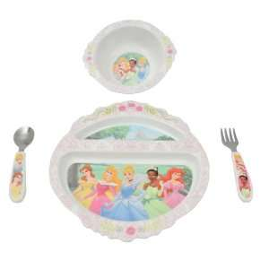 The First Years BPA Free Disney Princess Feeding Set 4 Piece Baby