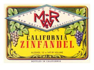 Zinfandel Wine Label Posters at AllPosters