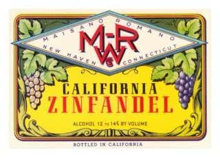Zinfandel Wine Label Posters at AllPosters