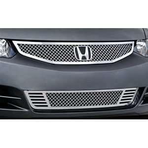2009 Honda Civic Coupe E&G Classics® 2 Pc Fine Mesh Grille (Main