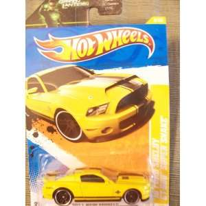 Hot Wheels 2011 New Models 2010 Ford Mustang Shelby GT 500 Super Snake