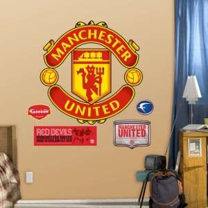 Manchester United Crest Soccer Fathead Wall Graphic