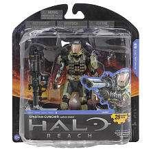 Halo Reach Series 5 6 inch Action Figures   Spartan Gungnir   T M P