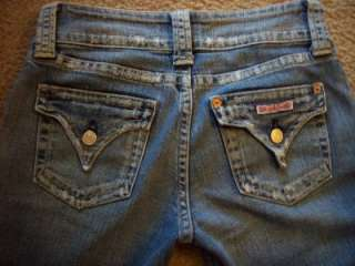 JEANS SZ 28X36 THICK STITCHED BACK FLAP POCKETS LOW BOOT HOT