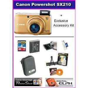 Canon PowerShot SX210IS 14.1 MP Digital Camera with 14x