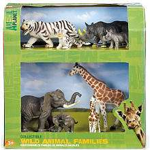 Animal Planet Jungle Mother & Babies Playset   Toys R Us   Toys R