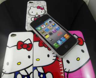 PCS Hello kitty Hard Back Cover Case for iPhone 4 4G 4S KT02