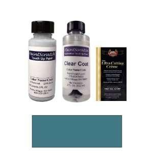 Oz. Dark Sapphire Blue Metallic Paint Bottle Kit for 1991 Buick All