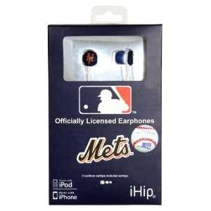 New York Mets Logo Earbuds