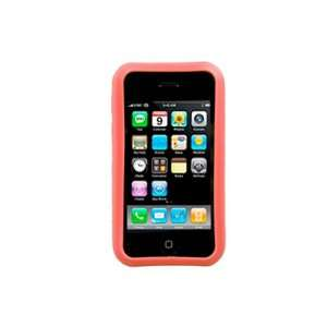 Silicone Cover   Apple iPhone 3G/3GS   Red Cell Phones