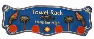 New Indoor & Outdoor UV Protected Pub & Patio Sign   Towel Rack