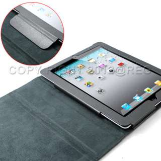 13 ACCESSORY BLACK LEATHER HARD STAND CASE COVER+SCREEN PROTECTOR FOR