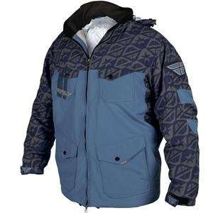 Fly Racing Pit Jacket   2010   3X Large/Navy/Grey