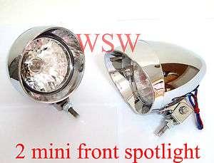 Lamp Head Ligh Spo Kawasaki Vulcan 750 VN800 VN1500 1600 Chrome