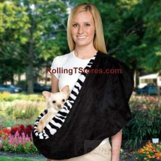 Dog Pet Carrier Reversible Sling Small Dogs