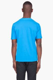 star Blue Walking Star T shirt for men