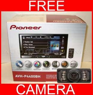 Pioneer AVH P4400BH Double DIN CD/DVD/USB/HD Radio Player+Back Up Rear