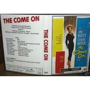 The Come On DVD with Anne Baxter, Sterling Hayden Everything Else