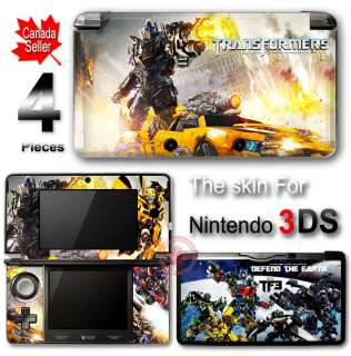 Transformers Optimus Prime & Bumblebee NEW SKIN for 3DS