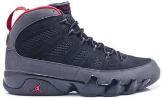 2010 Nike Air Jordan Retro IX 9 Shoes Black Varsity Red Size 12