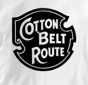 Cotton Belt Route Vintage Logo Railroad T Shirt XL