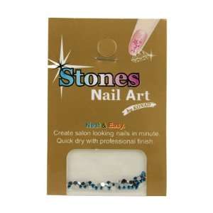 Konad Nail Art Rhinestones   Blue (50 Pcs) Beauty