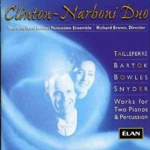 Works for Two Pianos and Percussion VARIOUS COMPOSERS Music