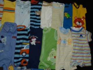 30pc BABY BOY size NEWBORN NB SUMMER OUTFIT CLOTHES LOT infant Preemie