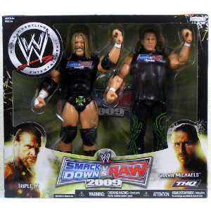 WWE Exclusive Smackdown vs. RAW 2009 Triple H and Shawn Michaels