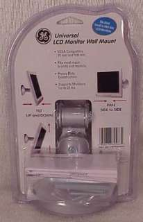 GE UNIVERSAL LCD MONITOR WALL MOUNT   NEW