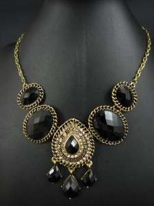 New In Fashion India Style Gold Tone Pendant Necklace Chains MS2000