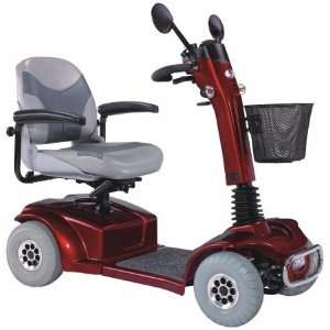 Products PF6 Mirage Power Scooter   Red