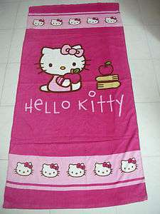 NEW! Hello Kitty Beach Bath Cotton Towel