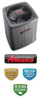 Ton 18 Seer Amana Heat Pump   ASZC180481
