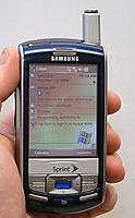 Samsung SCH i830 Sprint PCS PDA Cell Phone ip830w EX++