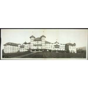 Panoramic Reprint of Hotel Potter, Santa Barbara: Home & Kitchen