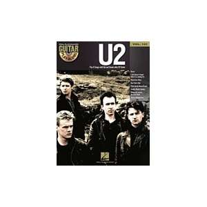 U2   Guitar Play Along Volume 121   Book and CD Package