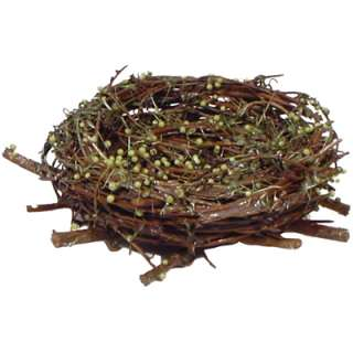 Hand Woven Natural Twig Nest D5   57697