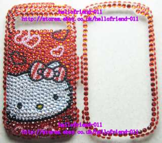 kitty BLing Full Case Cover For Samsung Admire Vitality R720 #D