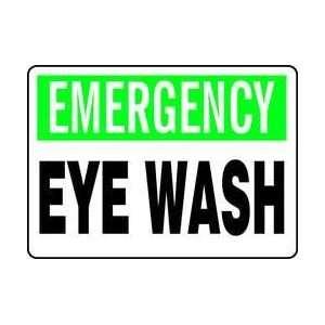 ,vinyl,10x14 In,emergency Eye Wash   ACCUFORM SIGNS