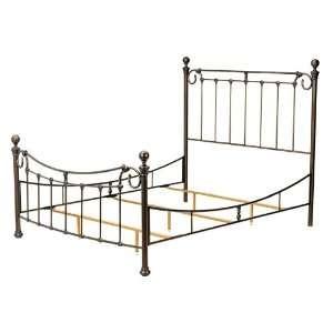 Riverside Antique Bronze Queen Bed Frame