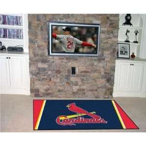 Exclusive By FANMATS MLB   St Louis Cardinals 4 x 6 Rug