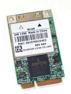 Dell Inspiron 1420 1501 1520 1521 Wireless Card   PC559