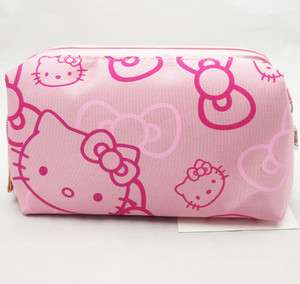 Pink Cute Hello Kitty Cosmetic Pouch Case Purse Bag P03