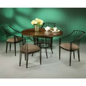 Pastel Metropolitan 5 pc. Wood Top Dining Table Set